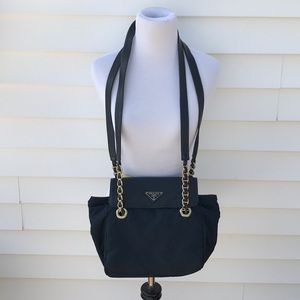 Prada  shoulder bag with double chain strap